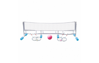 Poolmaster Super Combo Water Volleyball/Badminton Game Review