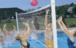 Pro Volly Retrofit Pool Volleyball Kit by Dunn-Rite Review