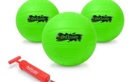 GoSports Water Volleyball 3-Pack with Pump Review